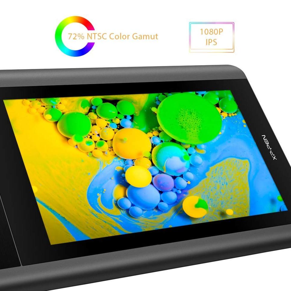 """[한국정품]""""XP-PEN Artist12 11.6 인치 FHD 드로잉 모니터 펜 디스플레이"""""""
